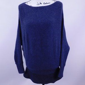 Theory Navy Blue Baggy Sweater